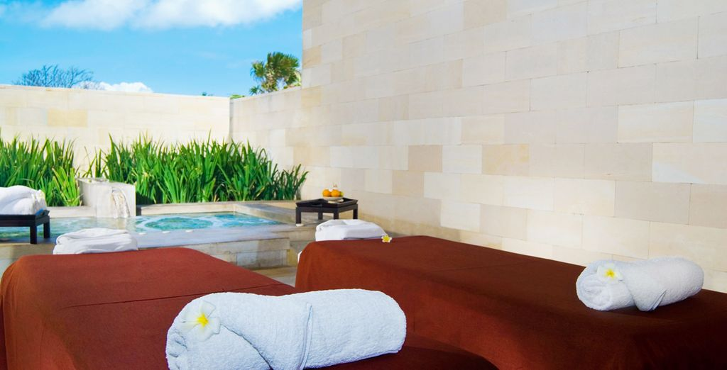 Visit the Spa for a relaxing massage or other treatment to get the most out of your holiday