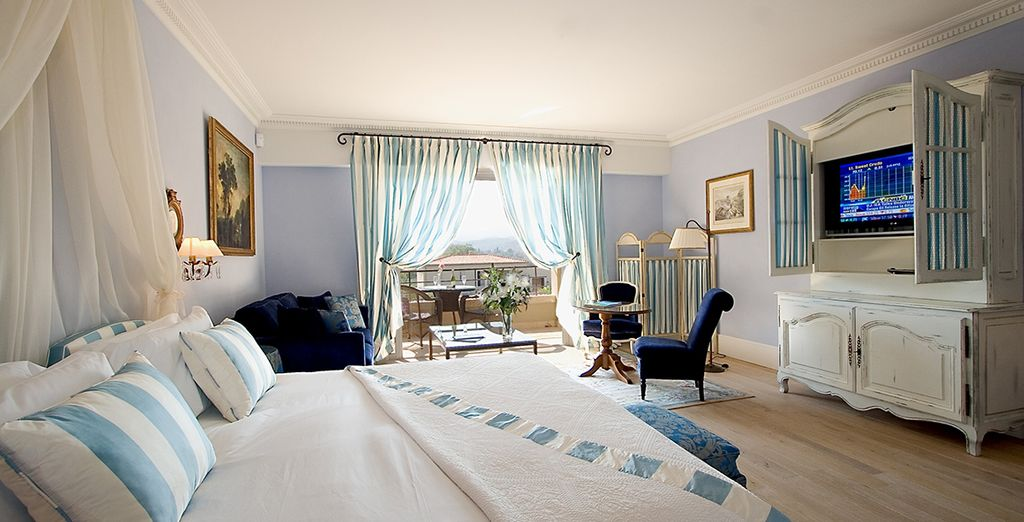 Or the ultimate luxury of a Junior Suite