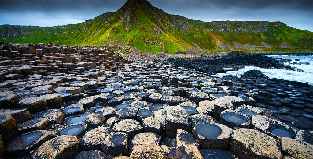 Visit the famous Giant's Causeway in Belfast