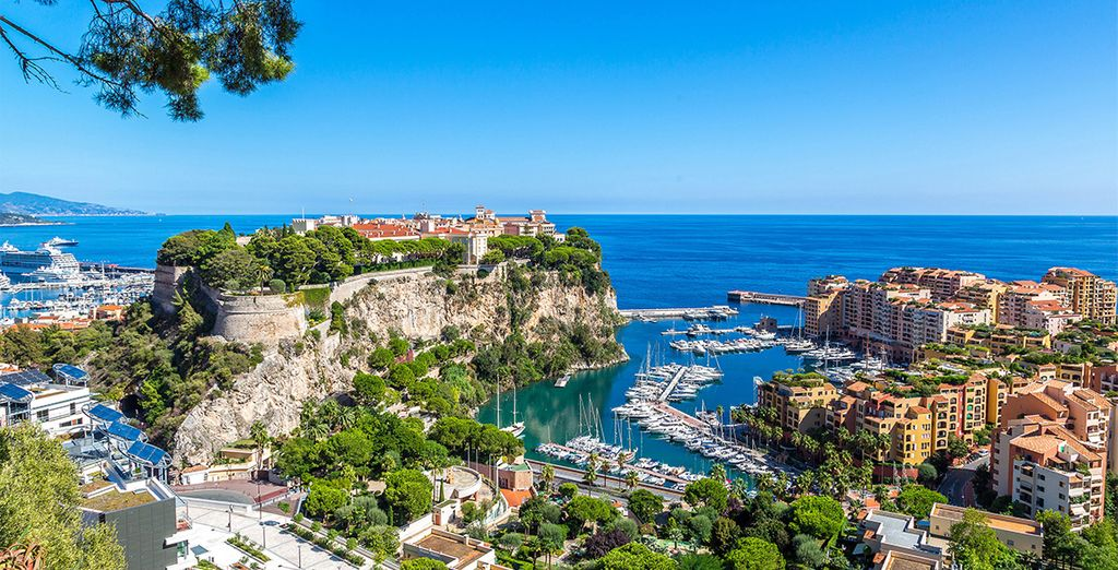 The glamour of Monte Carlo is just a short walk away