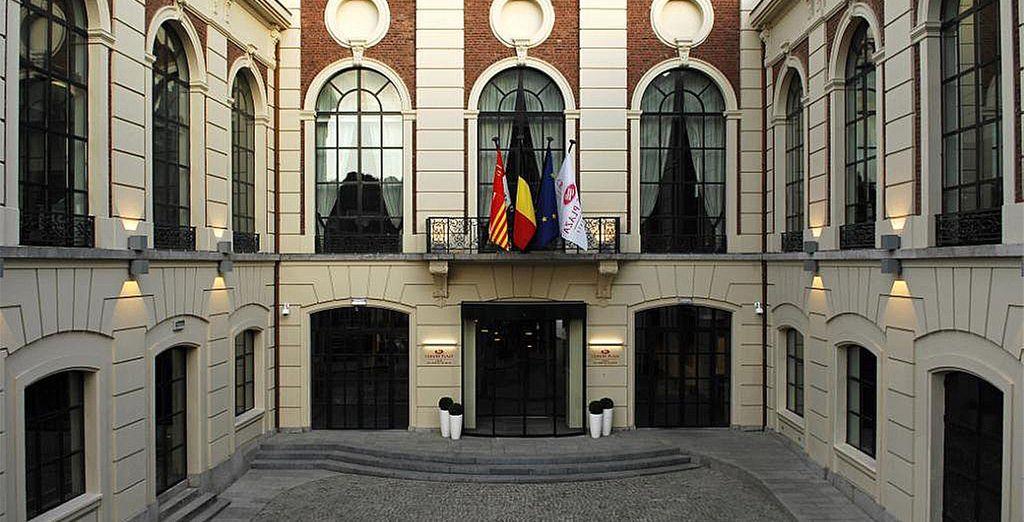 Of the Crowne Plaza Liège 5 *