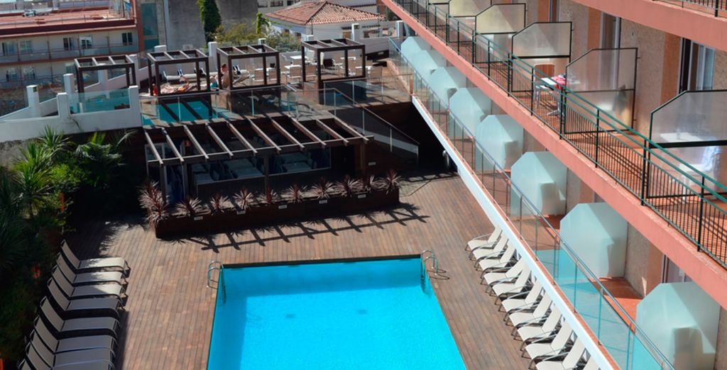 Sun Village 4* - hotel with a view in lloret de mar