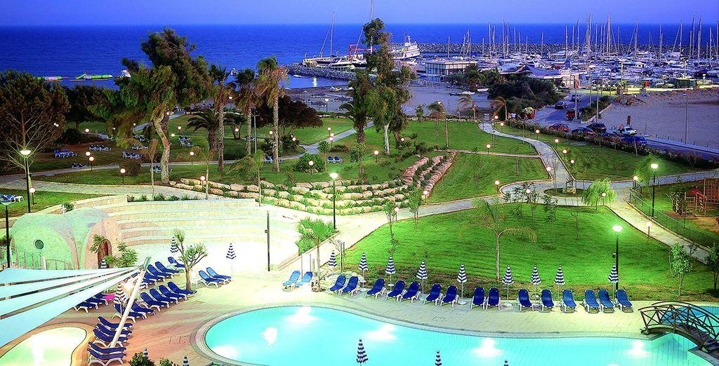 St. Raphael Resort 5* - luxury resort in Cyprus