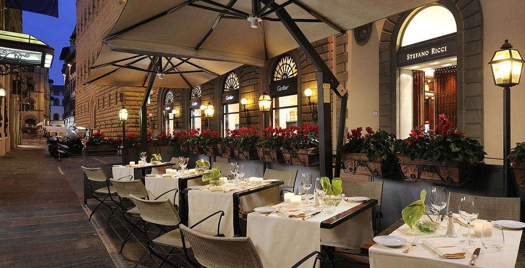 Return to your hotel to enjoy the best of Tuscan cuisine