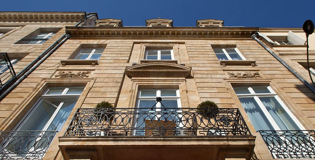 A charming building located in the heart of the city