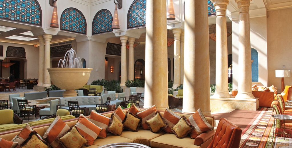 And discover the charms of Morocco