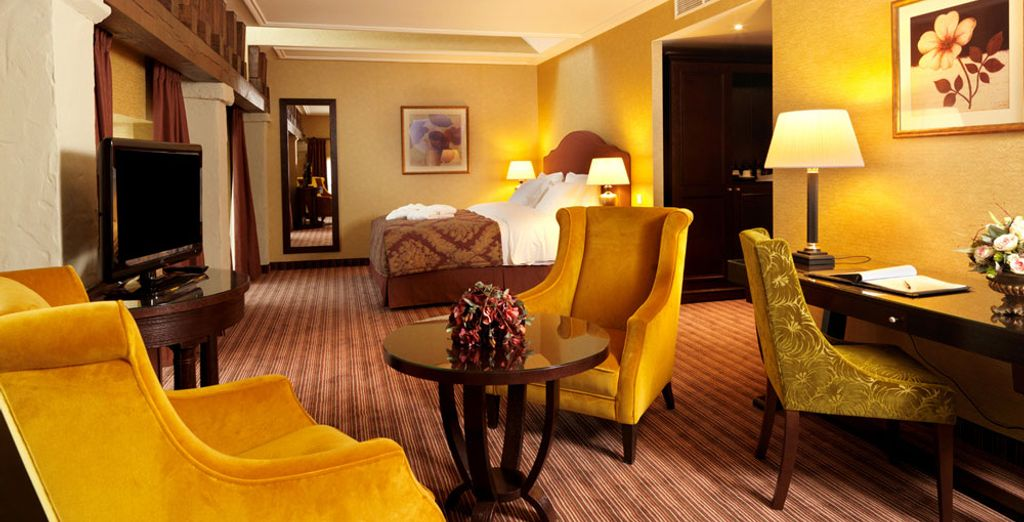 Or treat yourself to a Junior Suite