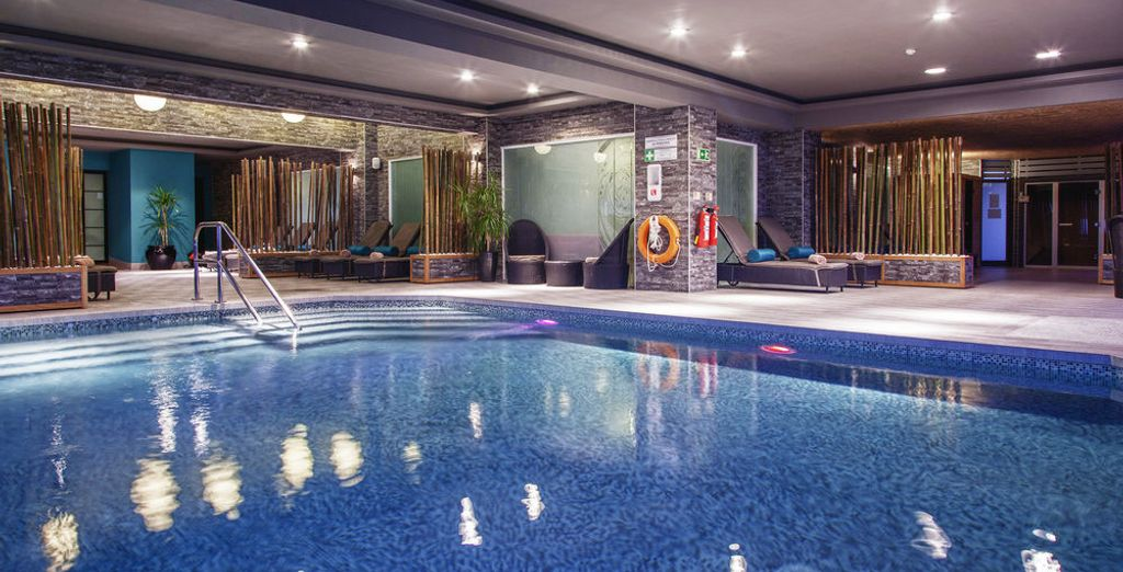 Treat yourself to an indulgent moment at the Spa
