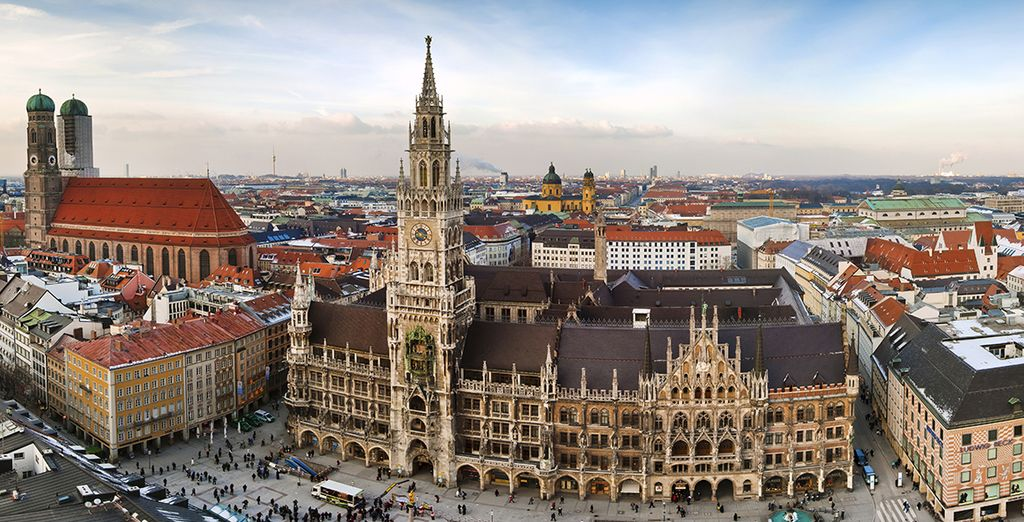 Discover our best hotels in Munich