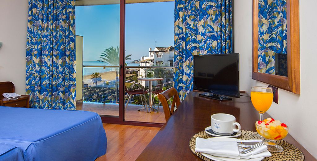 Our members will enjoy a Standard Side Sea View Room