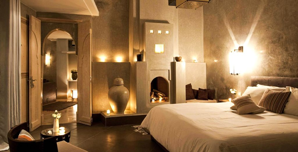 Treat yourself to a relaxing escape in Morocco...