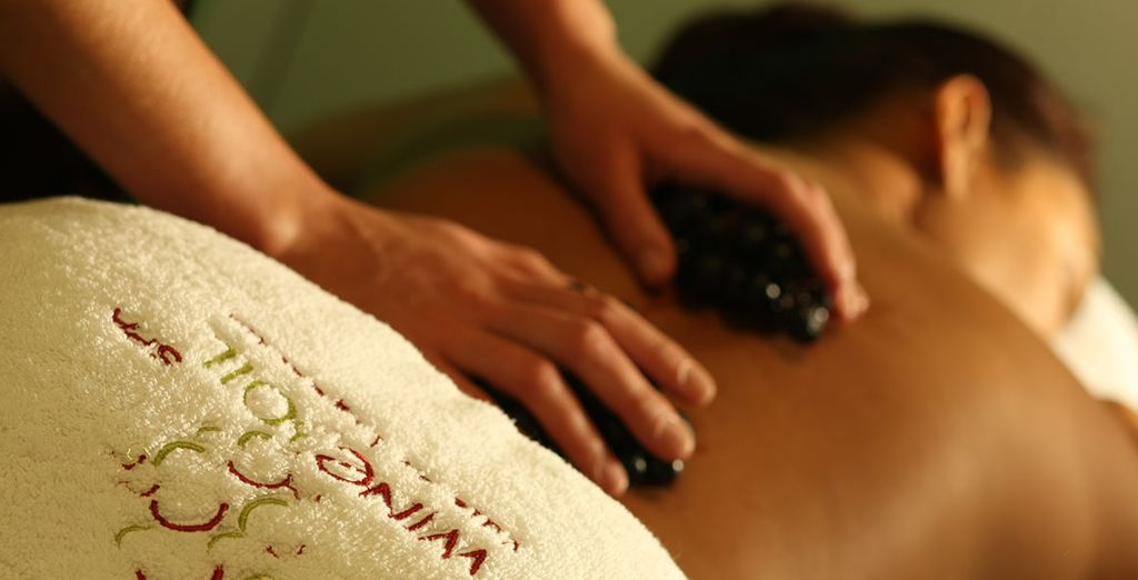 Or a hot stone treatment