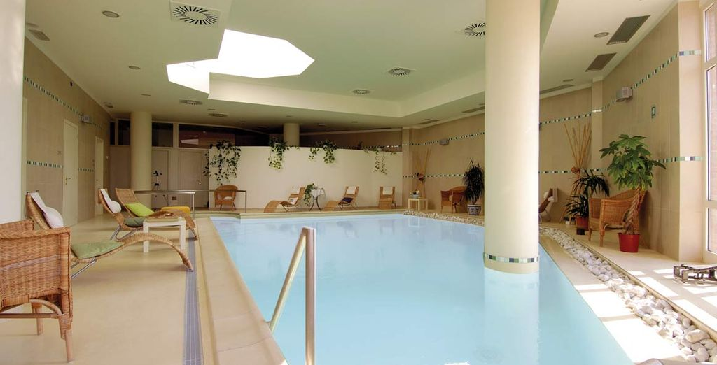 Or the serene indoor pool