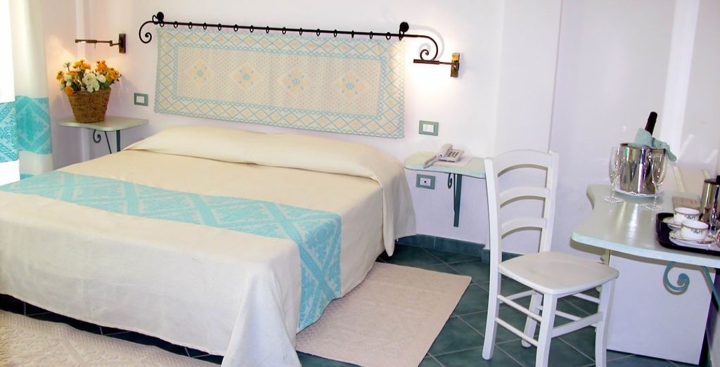 Our members will stay in a bright and elegant Double Room