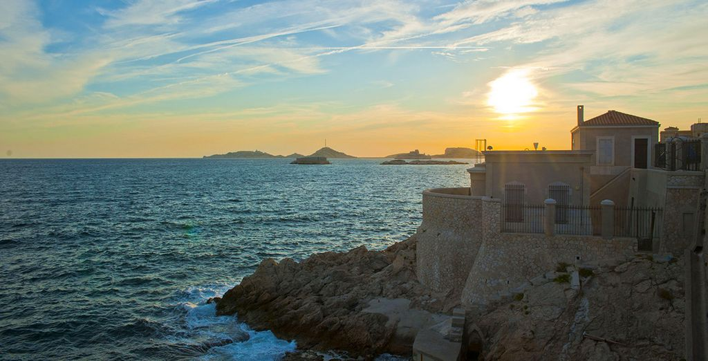 The Prado has one of the most stunning view of Marseille