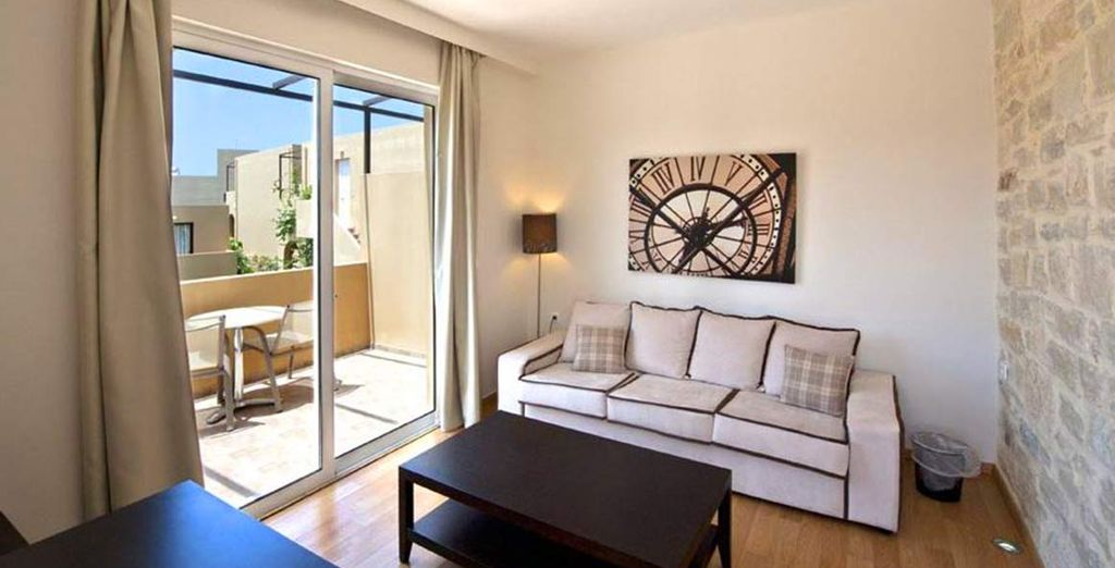 With a spacious and comfortable apartment just for you