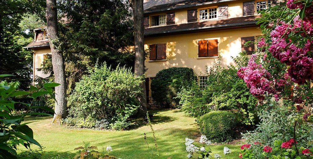 Nestled in the heart of the forest of Saint-Germain-en-Laye