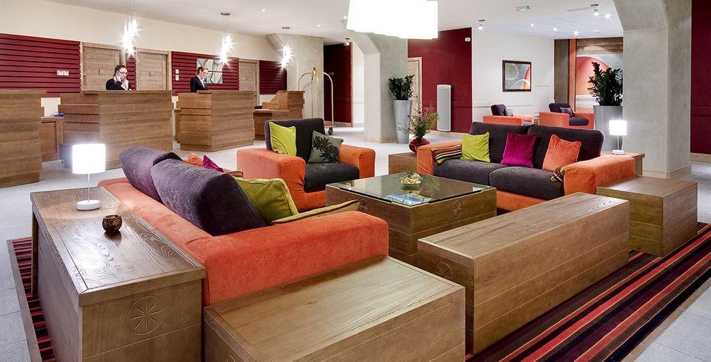 An elegant, cosy and modern resort