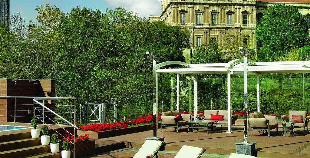 The Ritz-Carlton, Istanbul interprets the decadence and culture of the historic Ottoman Empire...