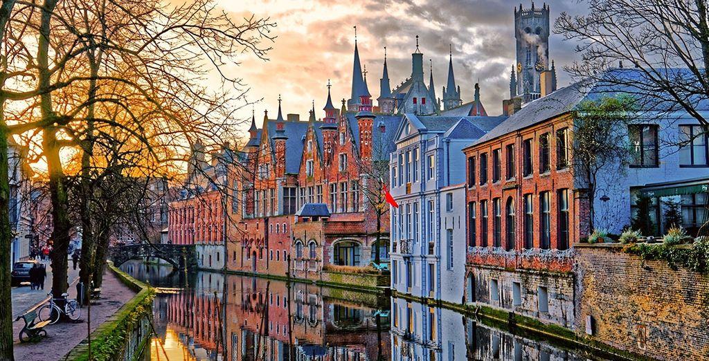 Visit Bruges! - Hotel de Tuilerieen 4* Bruges