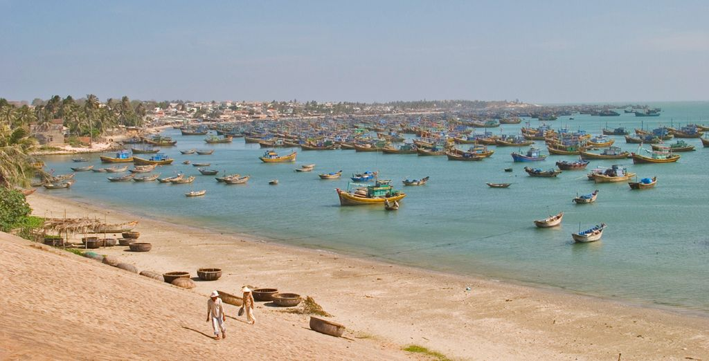 Finish your tour with five full days in the fishing port of Phan Thiet