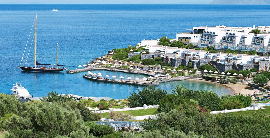 Stay on Crete's most exclusive peninsula - Elounda Peninsula All Suite Hotel 5* Elounda