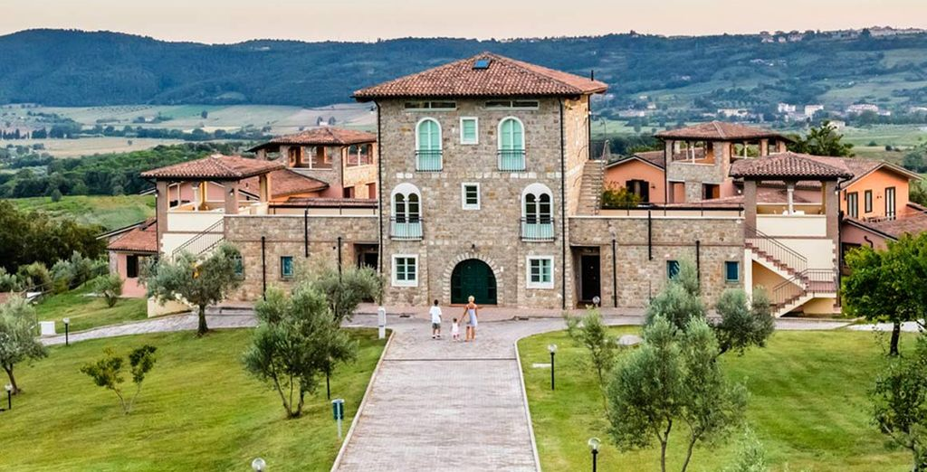 Nestled in the green hills of the Tuscan Maremma