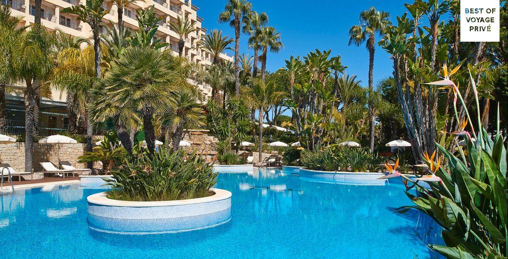 Pool and beach paradise awaits at Ria Park Hotel & Spa