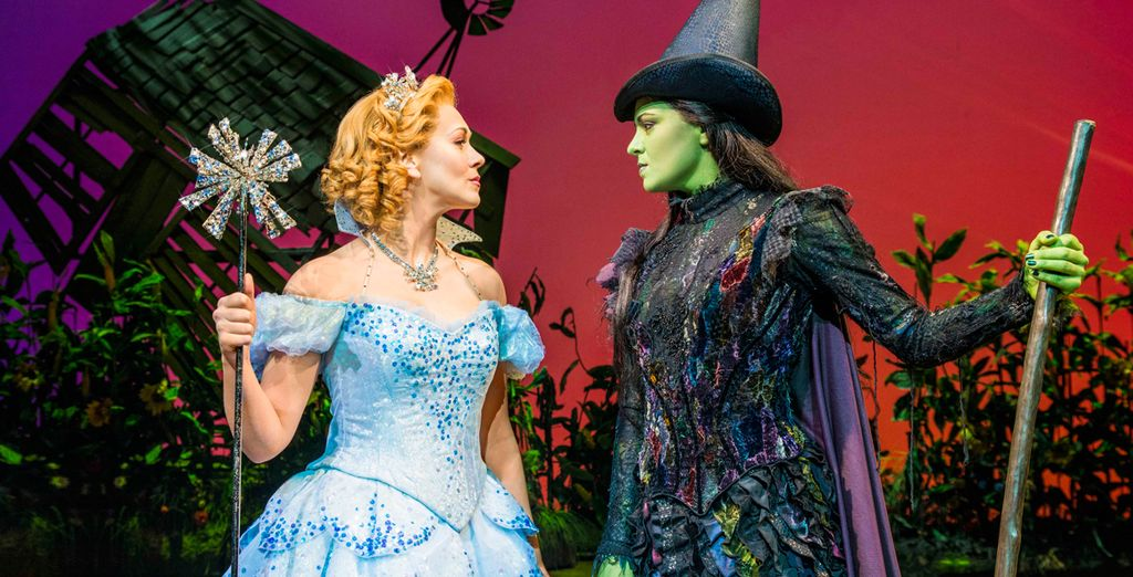 This is a chance to see the world famous musical Wicked