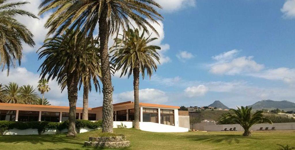 The 4* Porto Santo Hotel awaits you