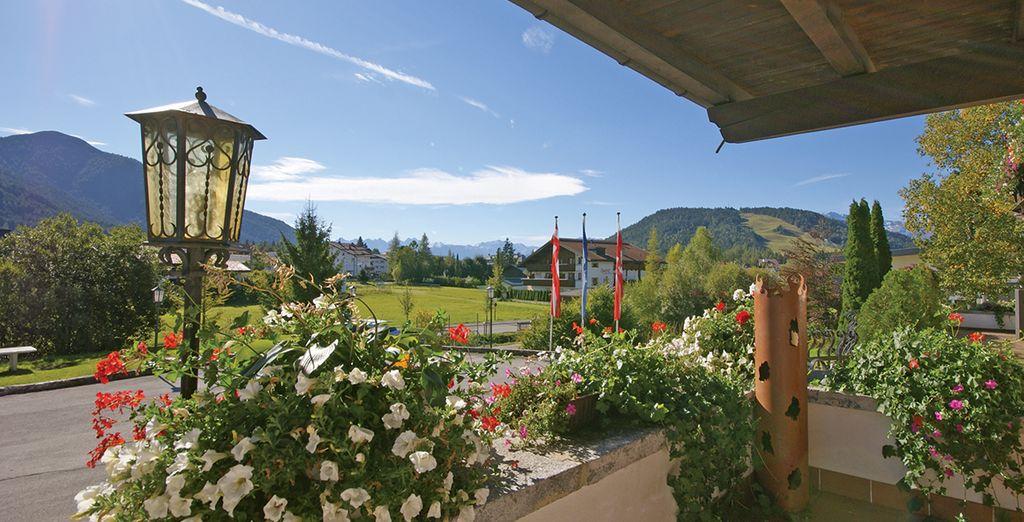 Breathe in the fresh mountain air - Hotel Alpina**** - Seefeld - Austria Seefeld