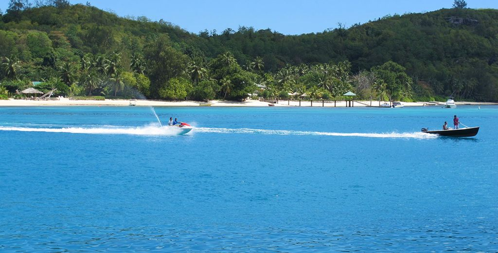 Liven things up with some watersports
