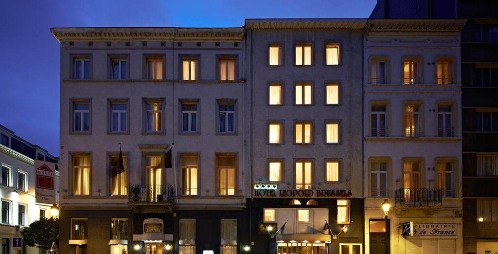 Leopold Brussels 4* - last minute booking ot Brussels