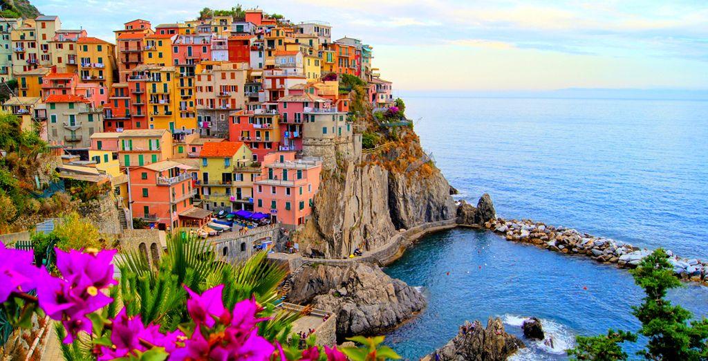 And the Cinque Terre region (a UNESCO World Heritage Site)