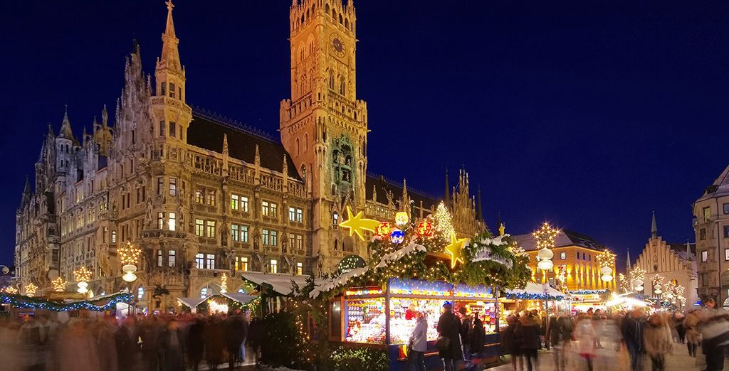 If you're travelling in November & Decmber the Christmas markets will be in full swing!