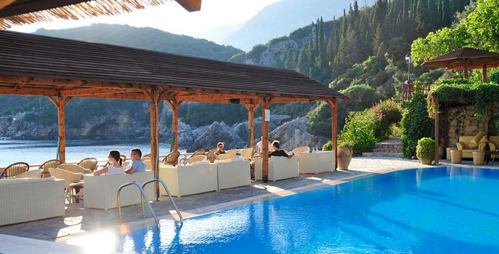 After you've relaxed in the pool, sit and gaze at the spectacular view