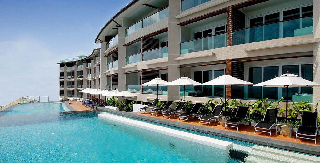 An elegant resort