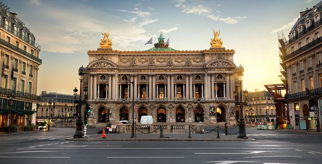 With central location close to the Garnier Opera and Rue Lafayette