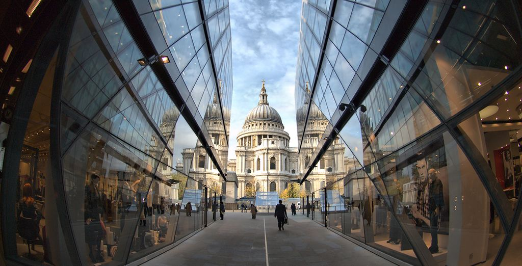 And the historic halls of St Paul's Cathedral