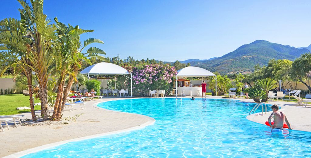 Relax in this peaceful setting - San Teodoro Hotel 4* San Teodoro