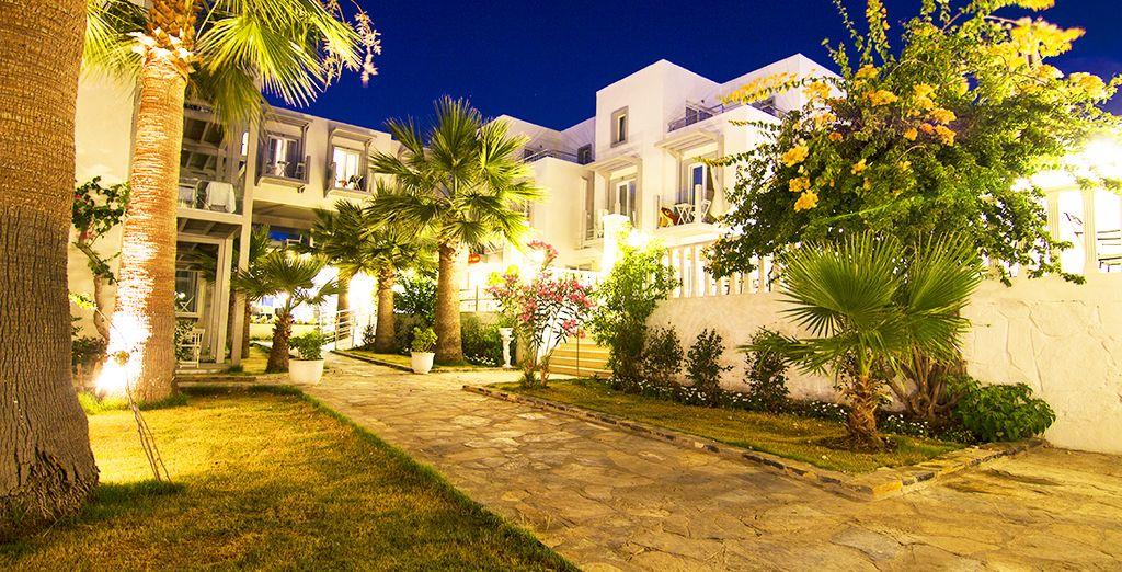 Charm Beach Resort 4* - hotel with private beach in Turkey