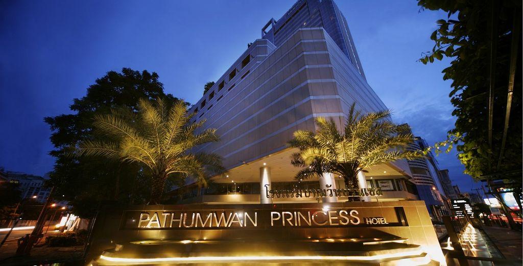 Staying at Pathumwan Princess Hotel 5*