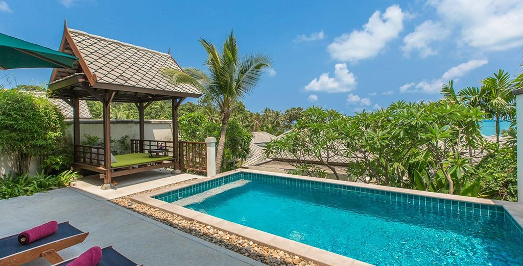 Here's your chance to have your very own private pool villa