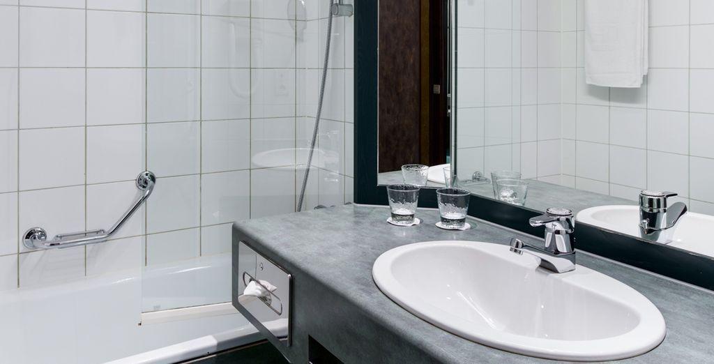 Boasting sleek, modern facilities