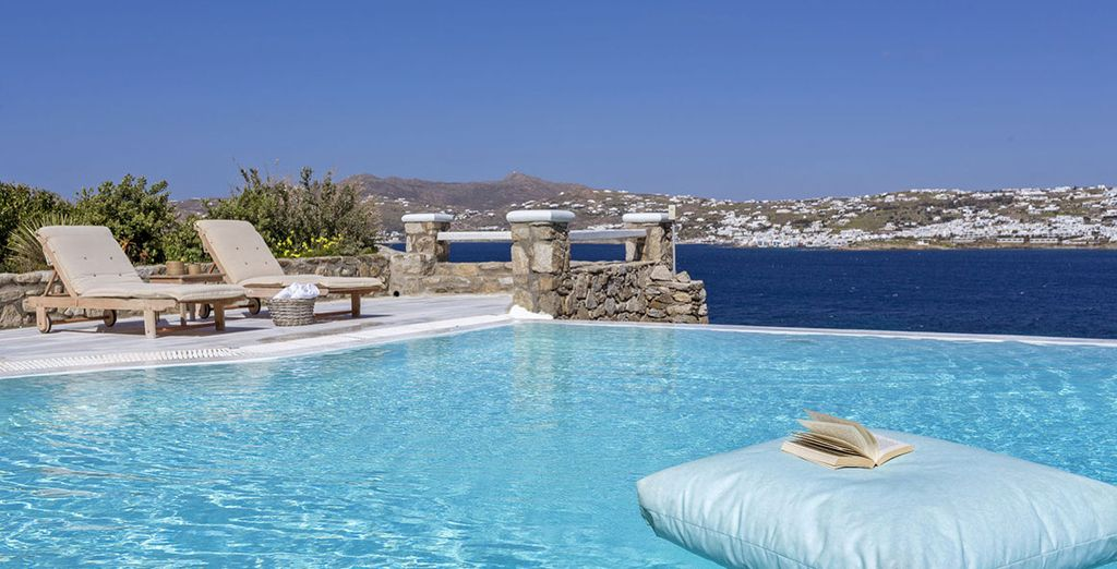 At this Boutique Mykonos No5 Luxury Residences