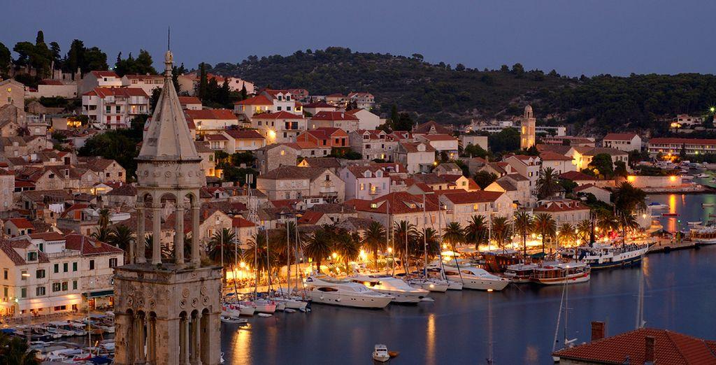 Enjoy a romantic cruise through the Adriatic
