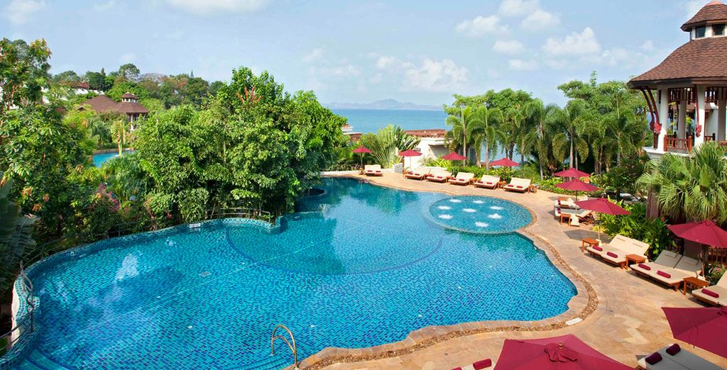 Then you will be whisked away to the Sheraton Pattaya Resort