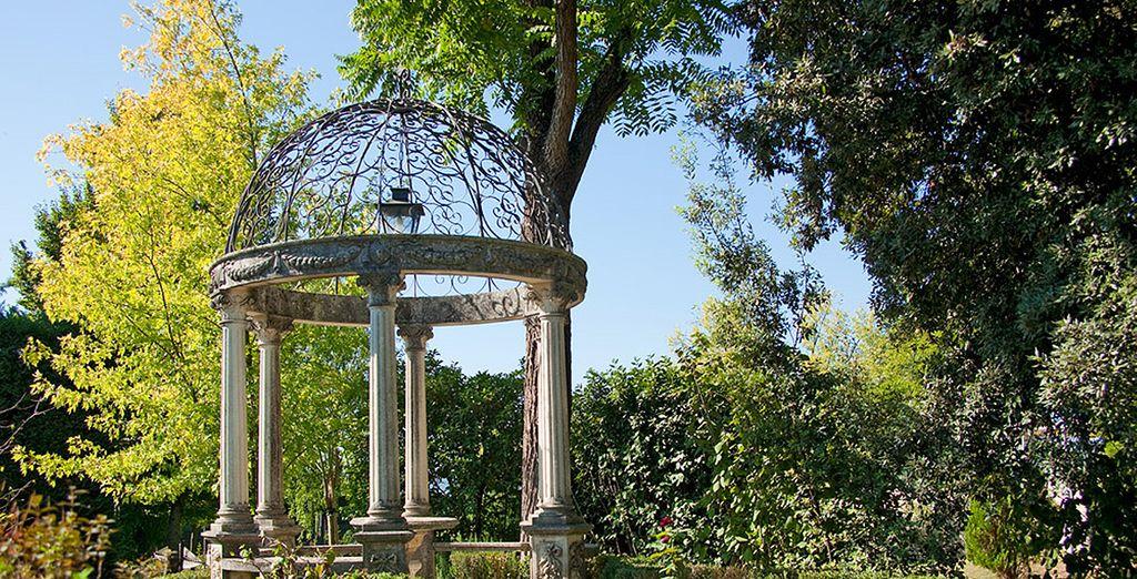 As do the pretty gardens