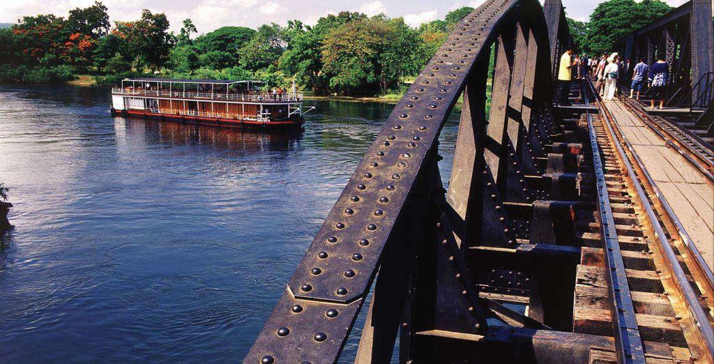 Including the famous bridge