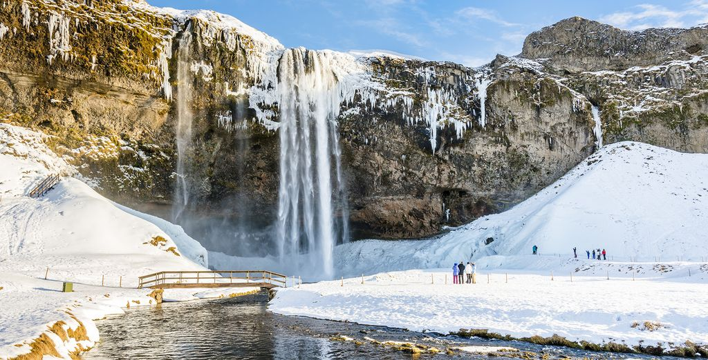 The third day will start with by going to one of the most romantic waterfalls of Iceland: Seljalandsfoss waterfall
